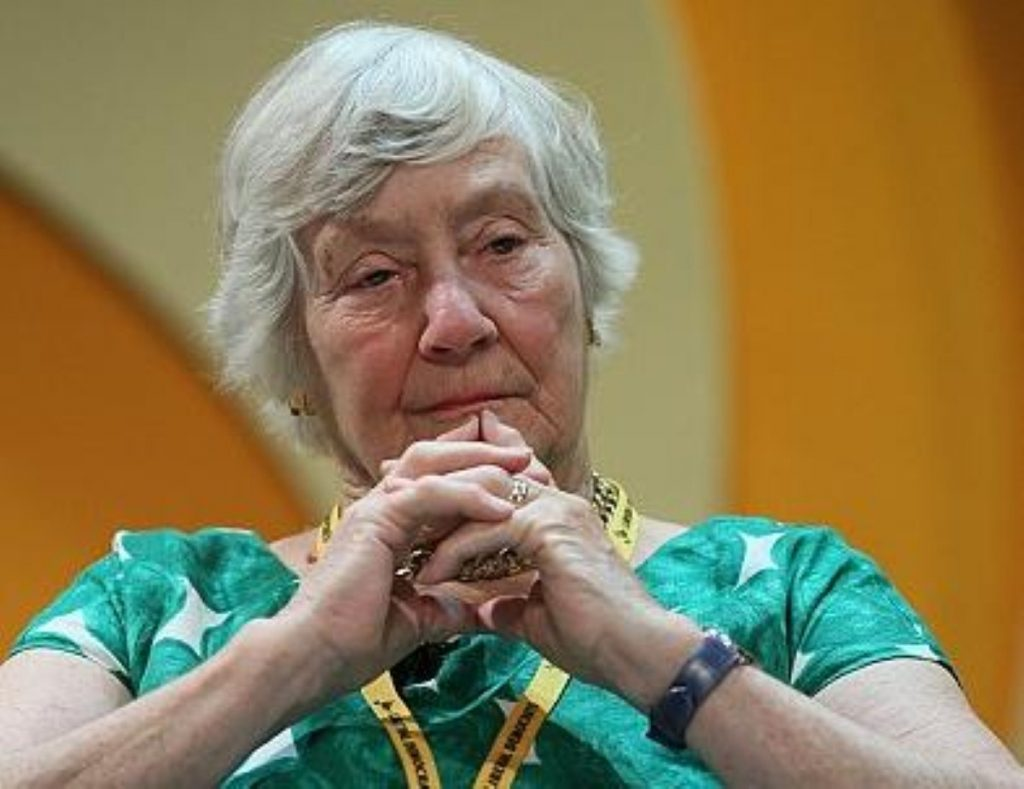 Shirley Williams is among key Lib Dem rebels fighting against NHS reforms