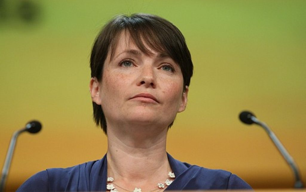 Kirsty Williams speaks in Birmingham at the Liberal Democrat conference 2011