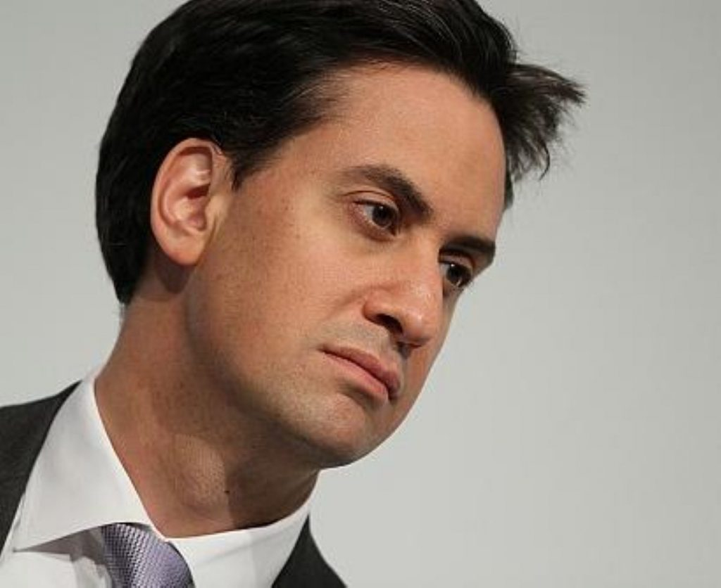 Ed Miliband says protesters shouldn't lead opposition