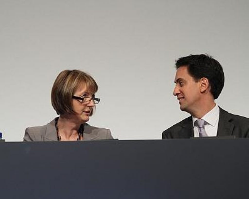 Harriet Harman worried by voter registration changes