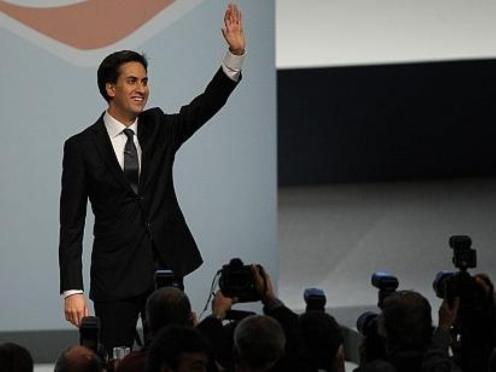 Ed Miliband's party is doing well - despite the performance of its leader