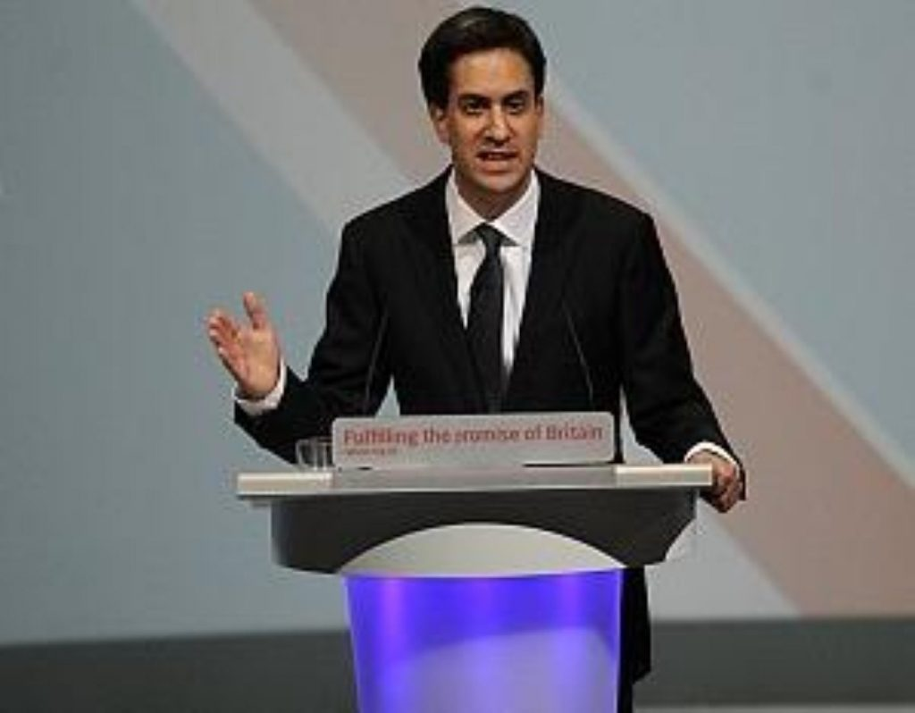Ed Miliband offers a 'real jobs guarantee' to young people