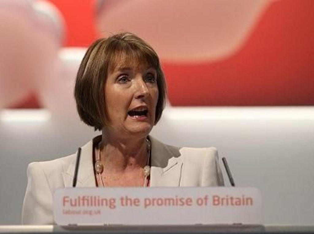 Harriet Harman wrapped up the 2011 Labour party conference