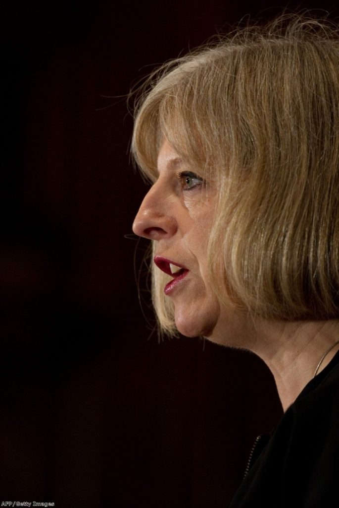 The home secretary has been a persistent critic of the Human Rights Act