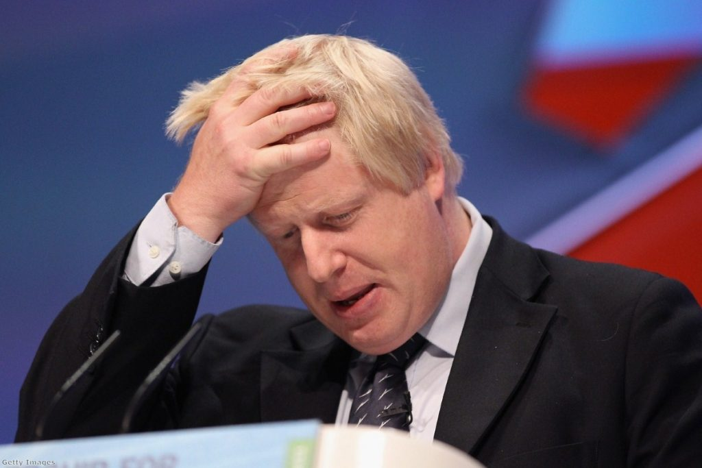 Boris Johnson's speech was attacked by Labour