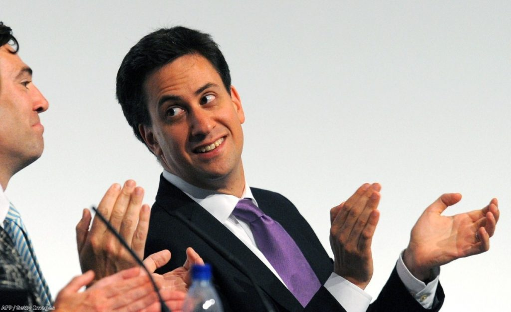 Ready for the fightback: Miliband seeks to consolidate leadership.