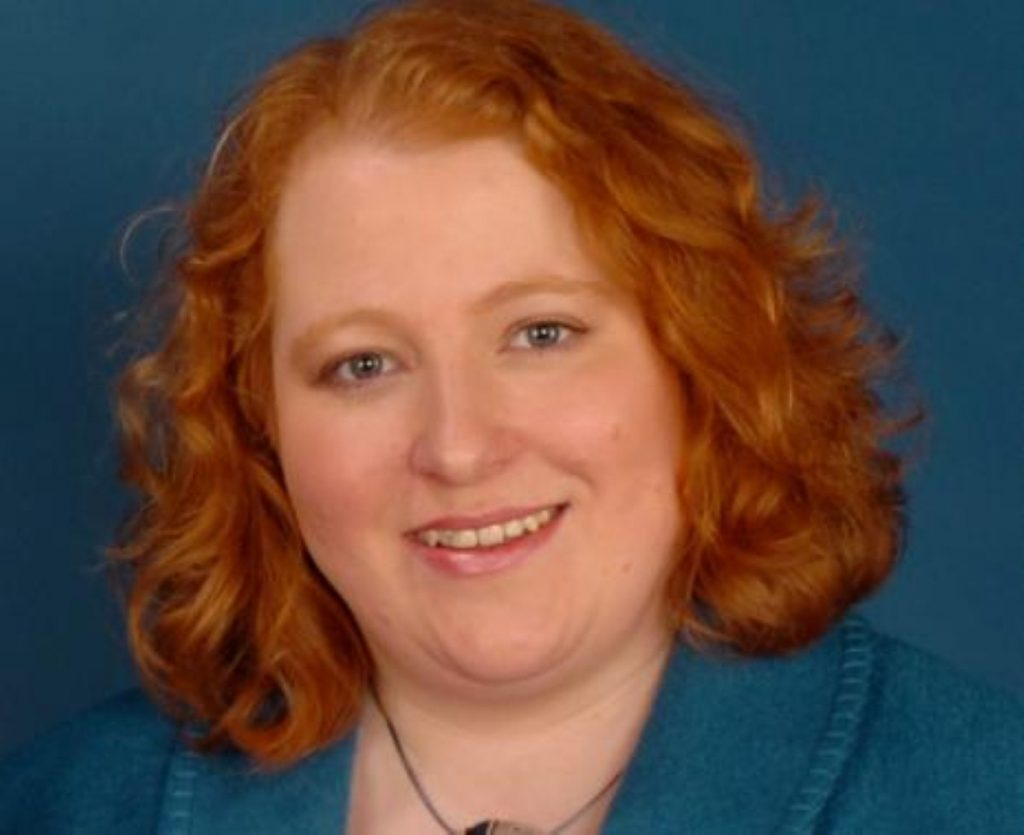 Naomi Long is deputy leader of the Alliance party