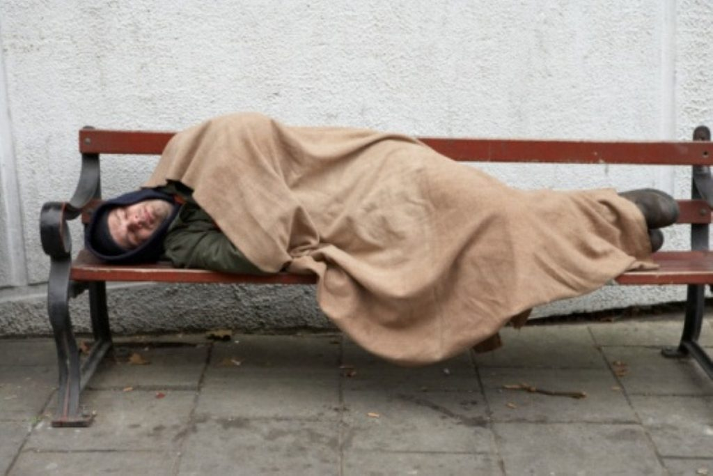 Homelessness has soared since 2010
