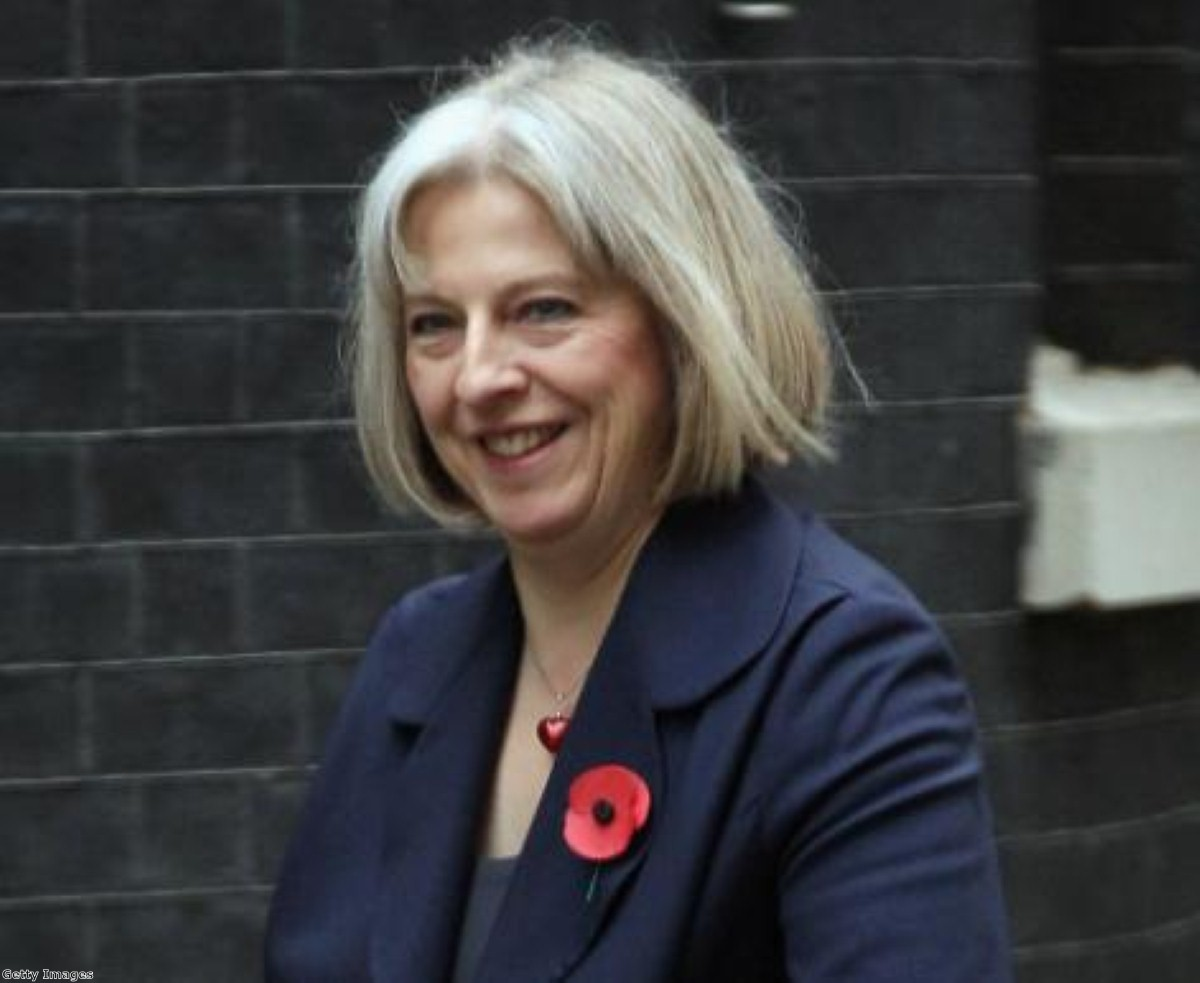 May is MP for Maidenhead