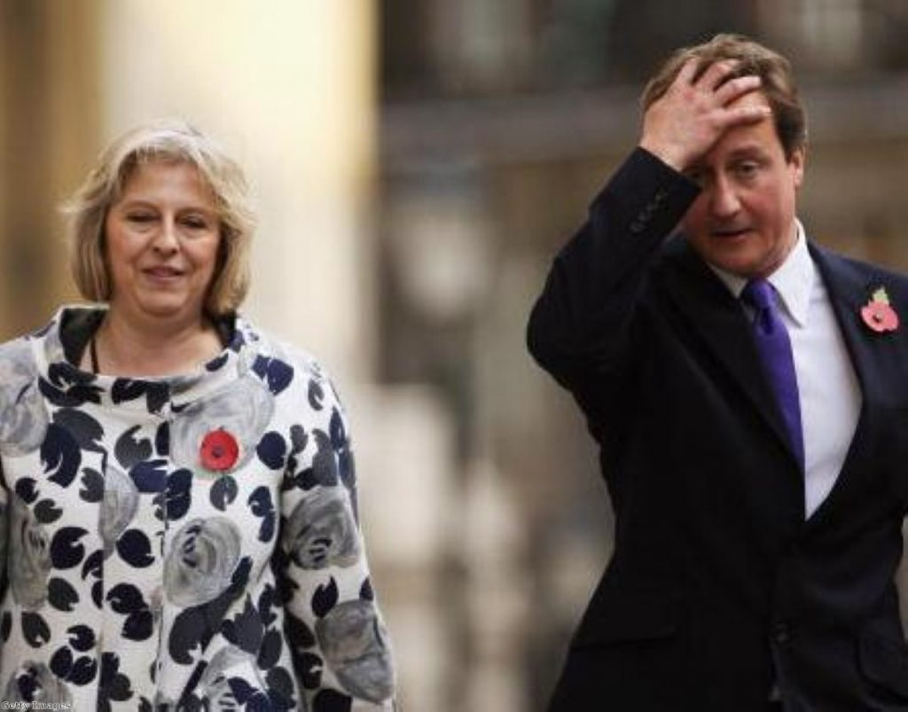 Even Cameron didn't tell Theresa May about Baker's arrival