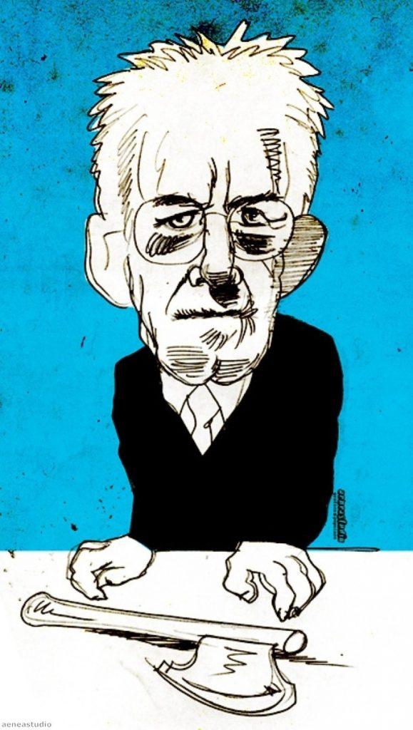 Mario Monti, by aeneastudio.
