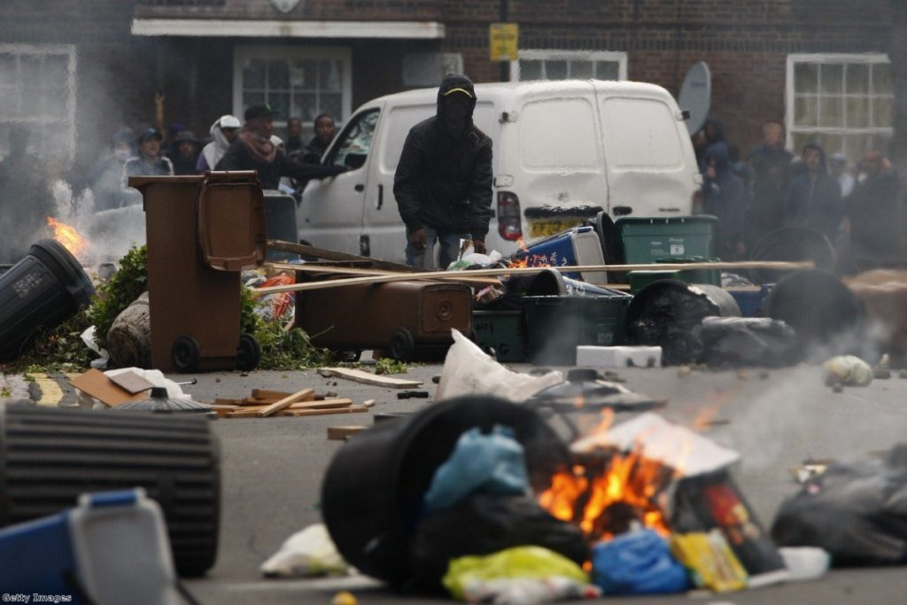 Gangs played a key role in August 2011's riots