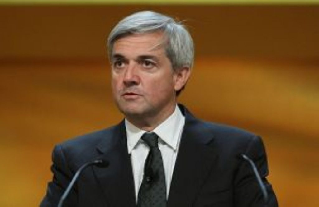 Chris Huhne appears in court for the first time today