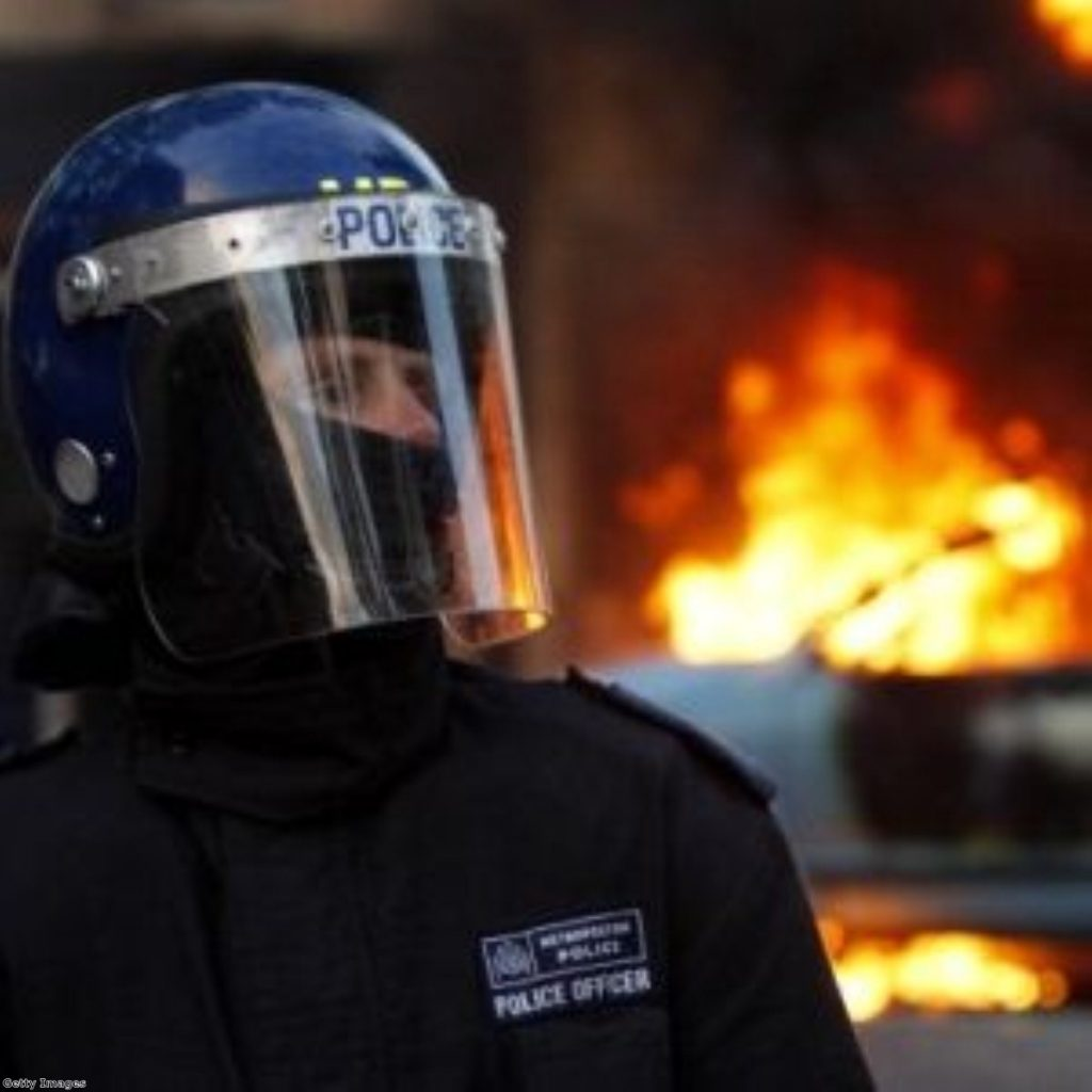 The Met police have stepped up demands for more weapons following the 2011 riots.