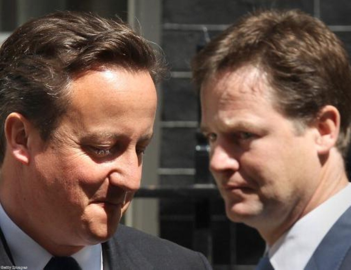 "Nick Clegg will ensure the Lib Dems remain an ""anchor"" on Conservative right-wingers"