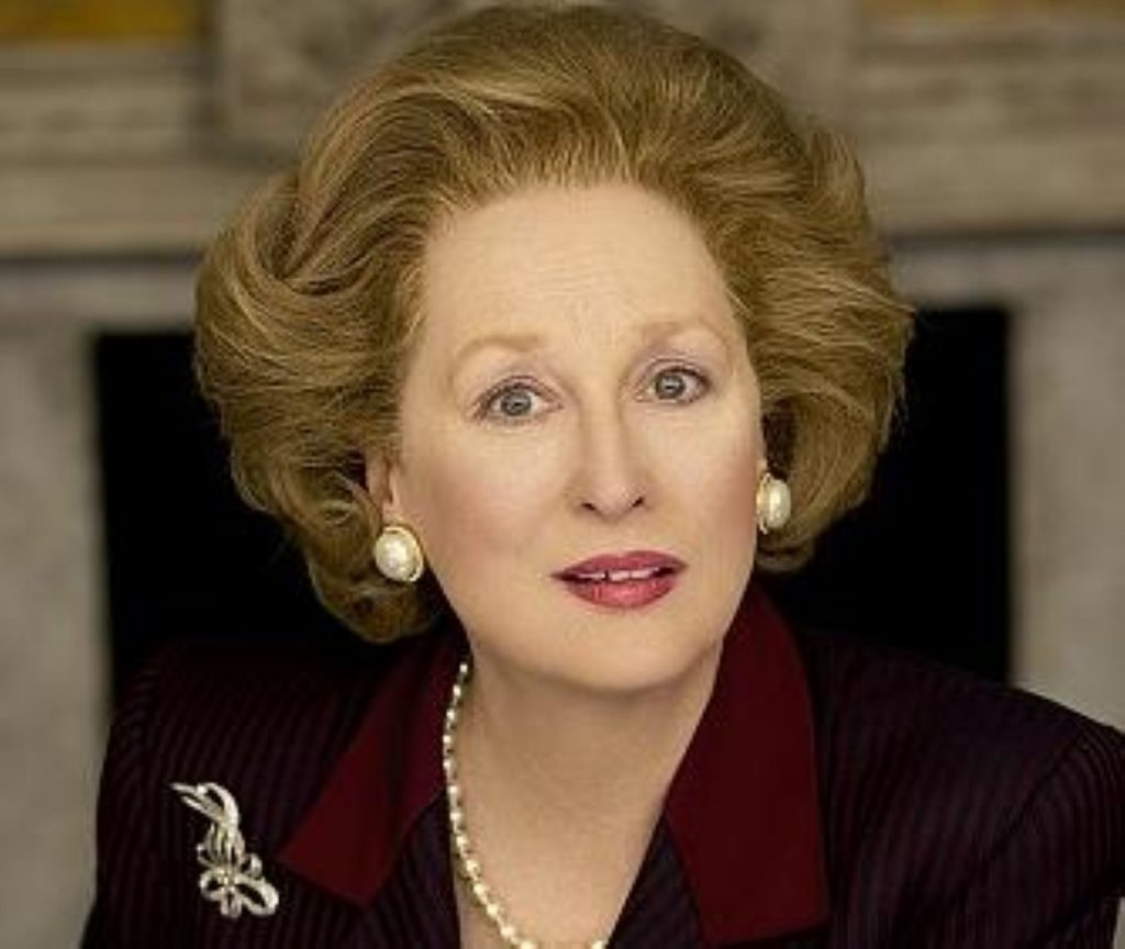 Thatcher's elocution lessons featured in Meryl Streep's take on the figure.