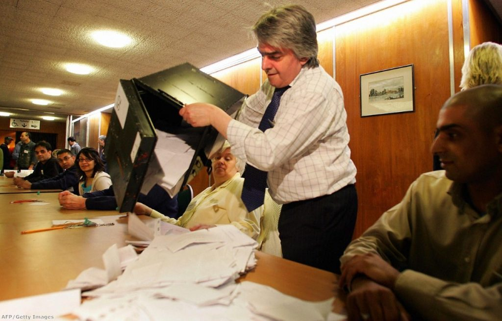 Voting takes place across the UK