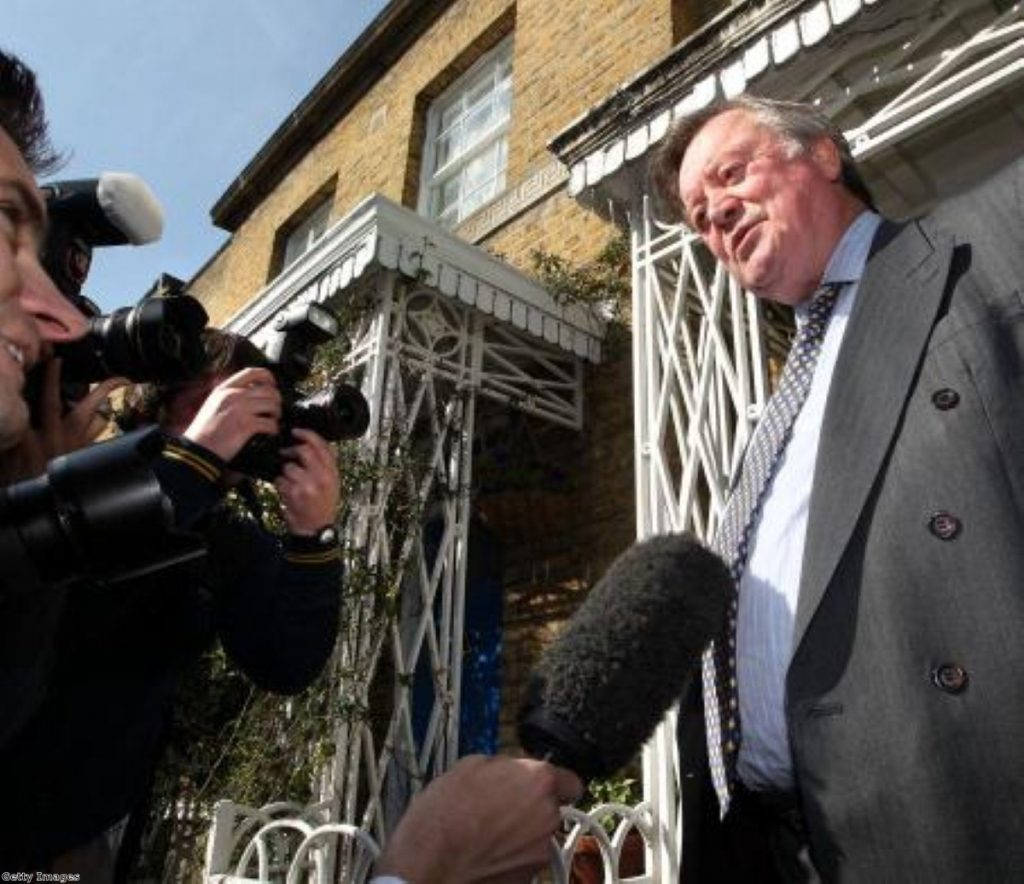 Ken Clarke faces questions over his rape remarks in May 2011