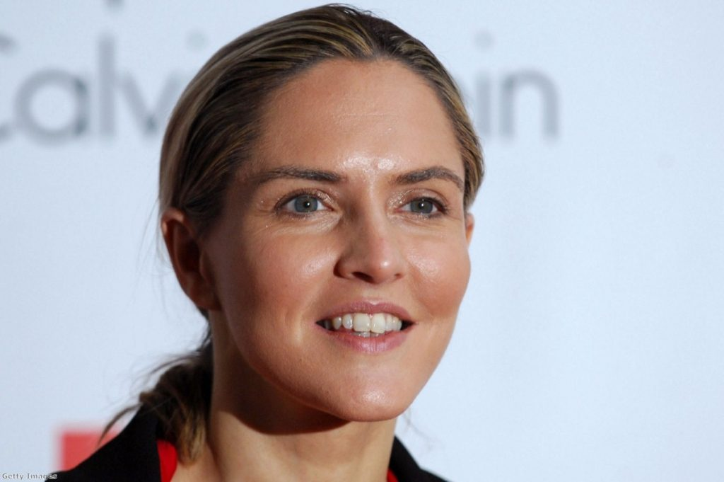 Louise Mensch and Tom Watson: Friends across the aisle
