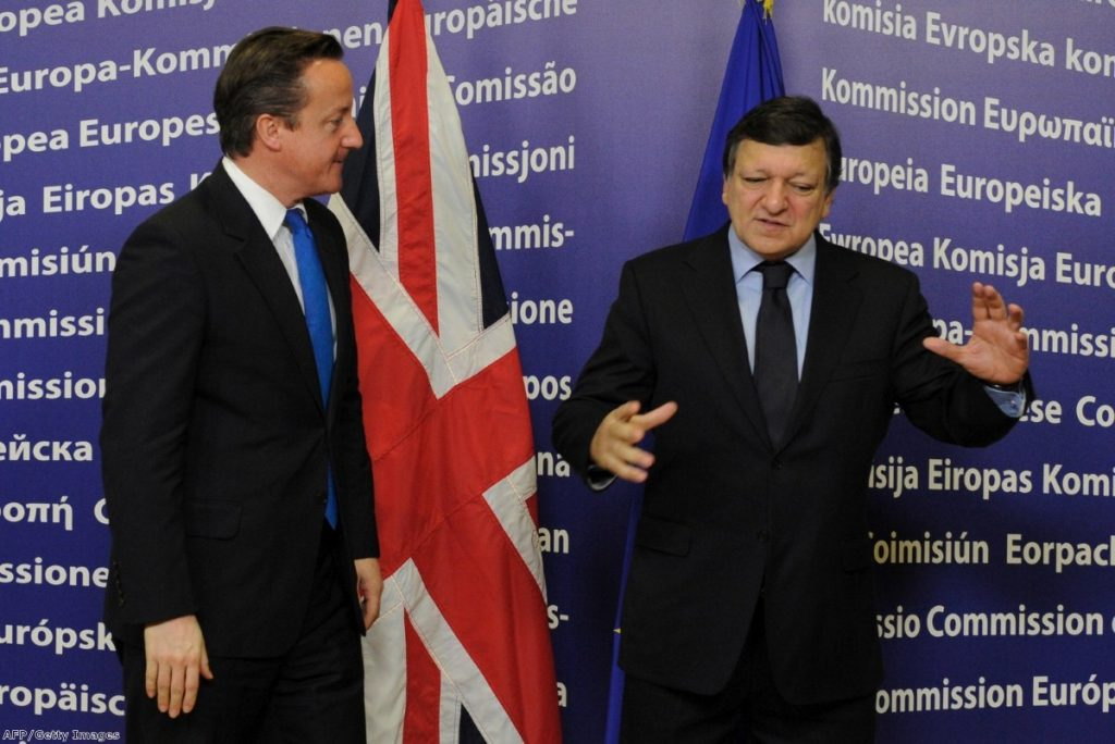 David Cameron and Jose Manuel Barroso: A tense relationship at the best of times