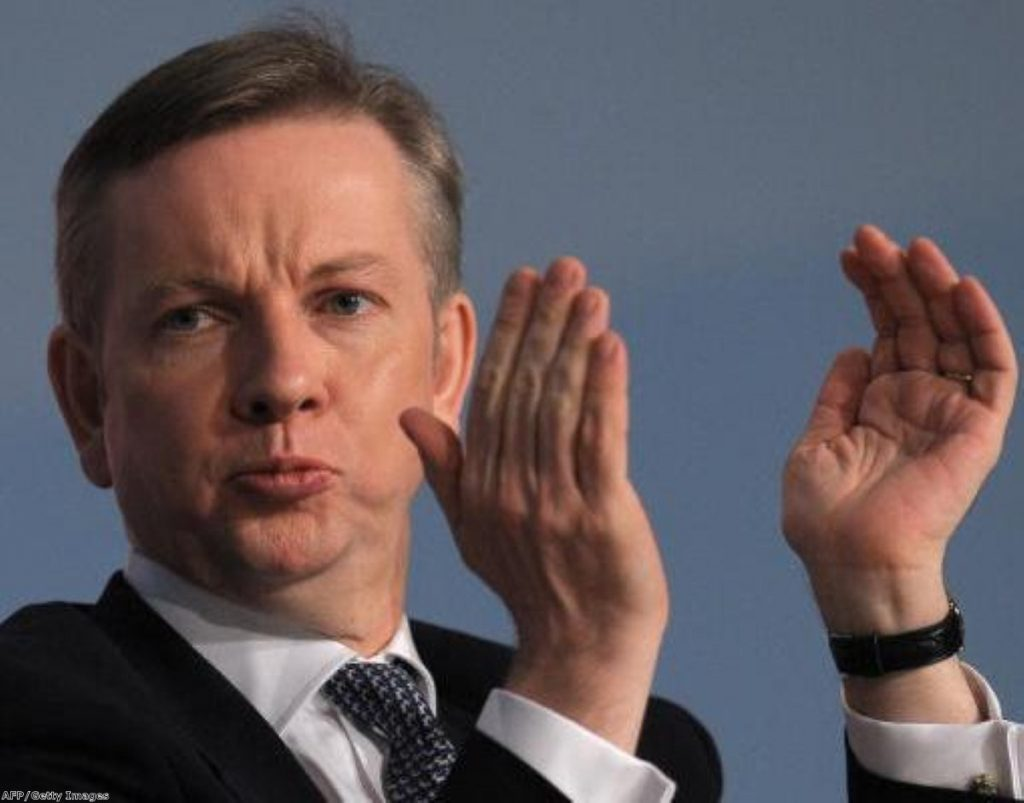 Gove is under fire for the reduction in A* to C grades