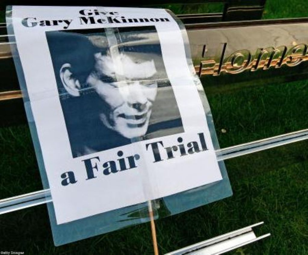 Campaigners aren't giving up as the McKinnon case drags on