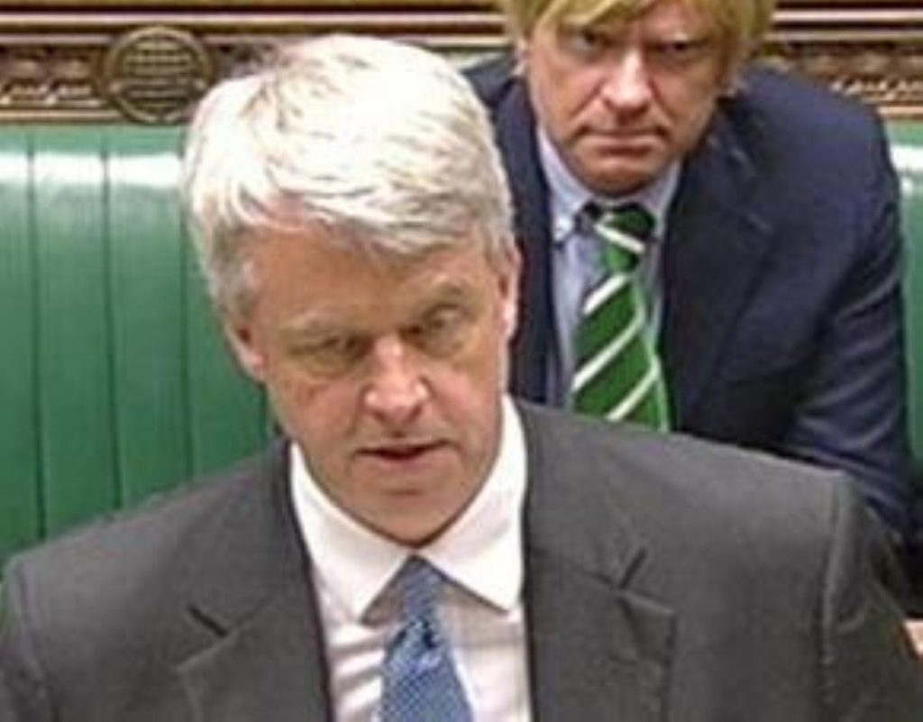Another tough day at the office for Andrew Lansley