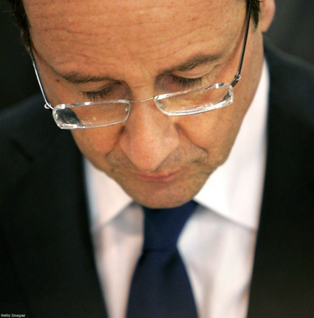 Hollande was victorious in the French elections