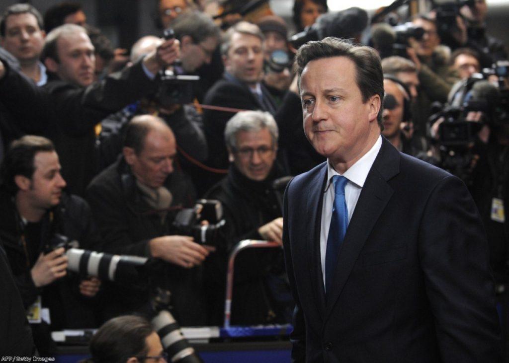 Tough gig? David Cameron faces an uphill struggle at EU budget negotiations