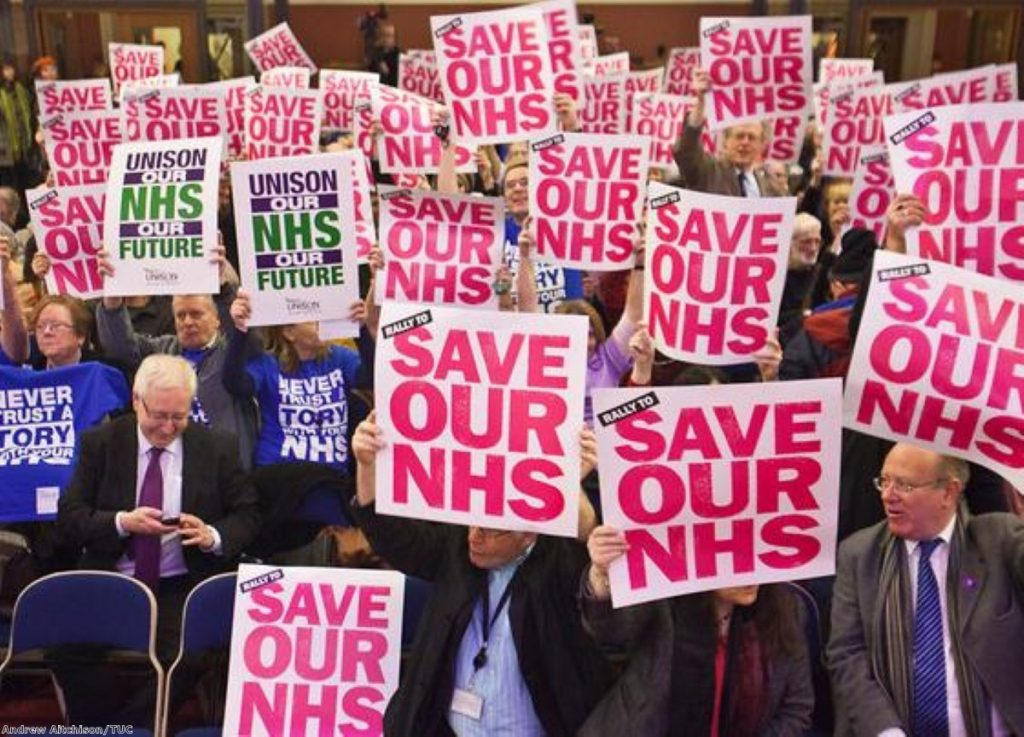 Politics is never going to be divorced from the NHS