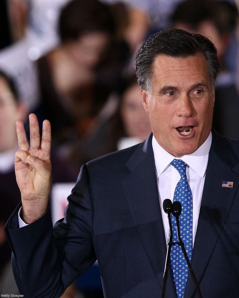 Mitt ROmney is front runner for the Republican nomination, but few of his own supporters seem to believe he could beat Barack Obama.