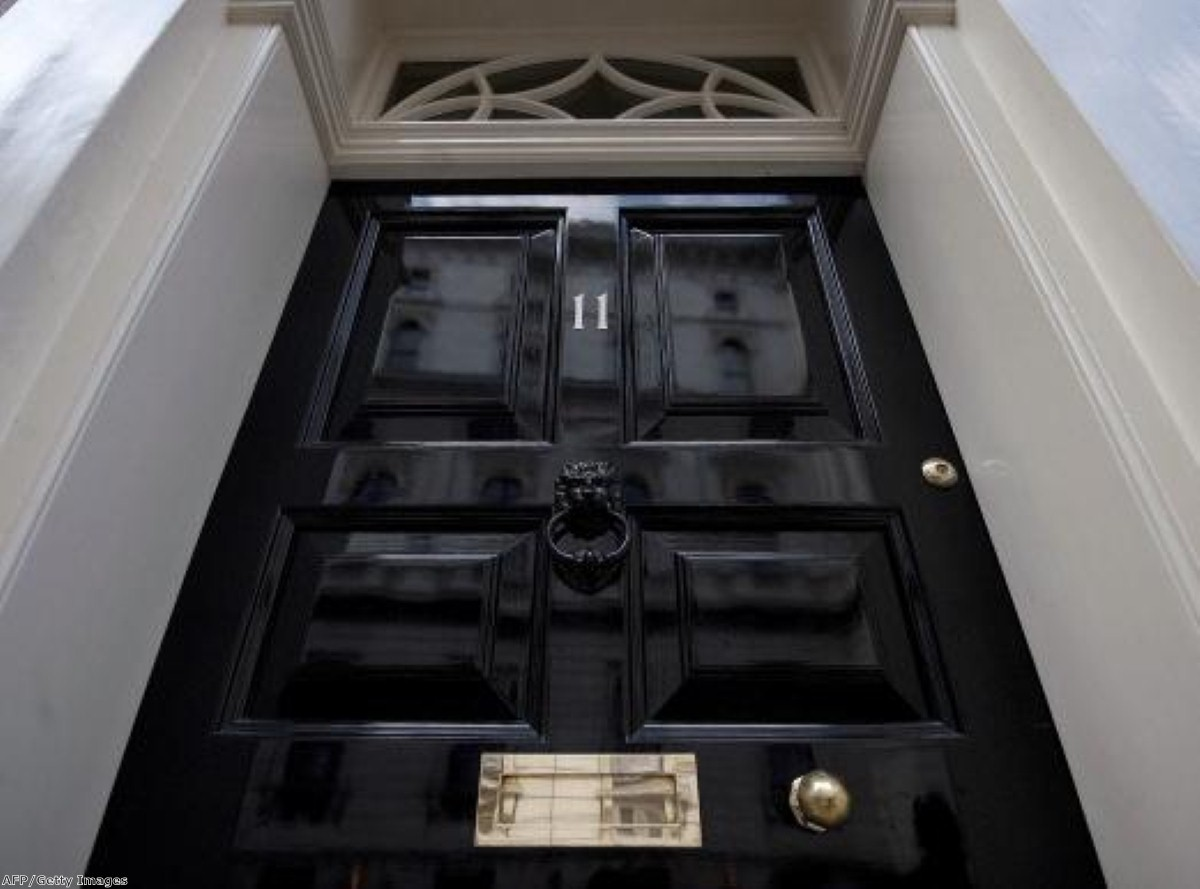 Laying the blame for the recession at the chancellor's door