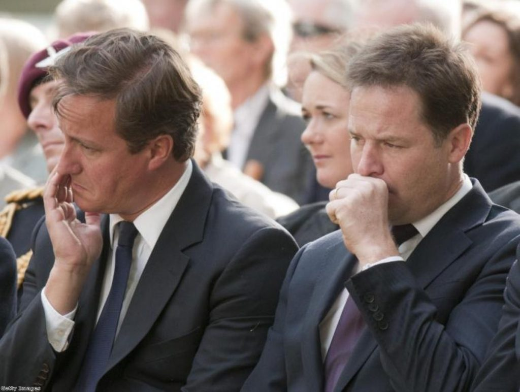 Not a week to remember for either of the coalition's leaders