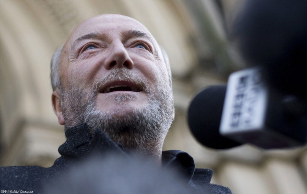 George Galloway announces that he will stand for London mayor in 2016