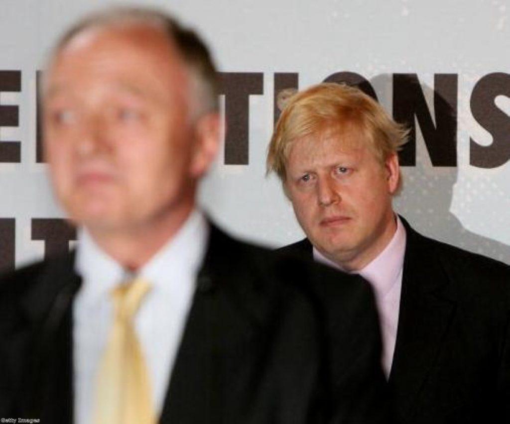 Expletives galore in a Boris-Ken lift clash