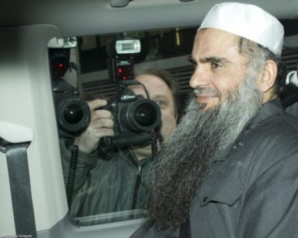 """Abu Qatada is wanted in his native Jordan for conspiracy to commit acts of terror and has been described as Al-Qaida's """"spiritual leader"""" in Europe."""