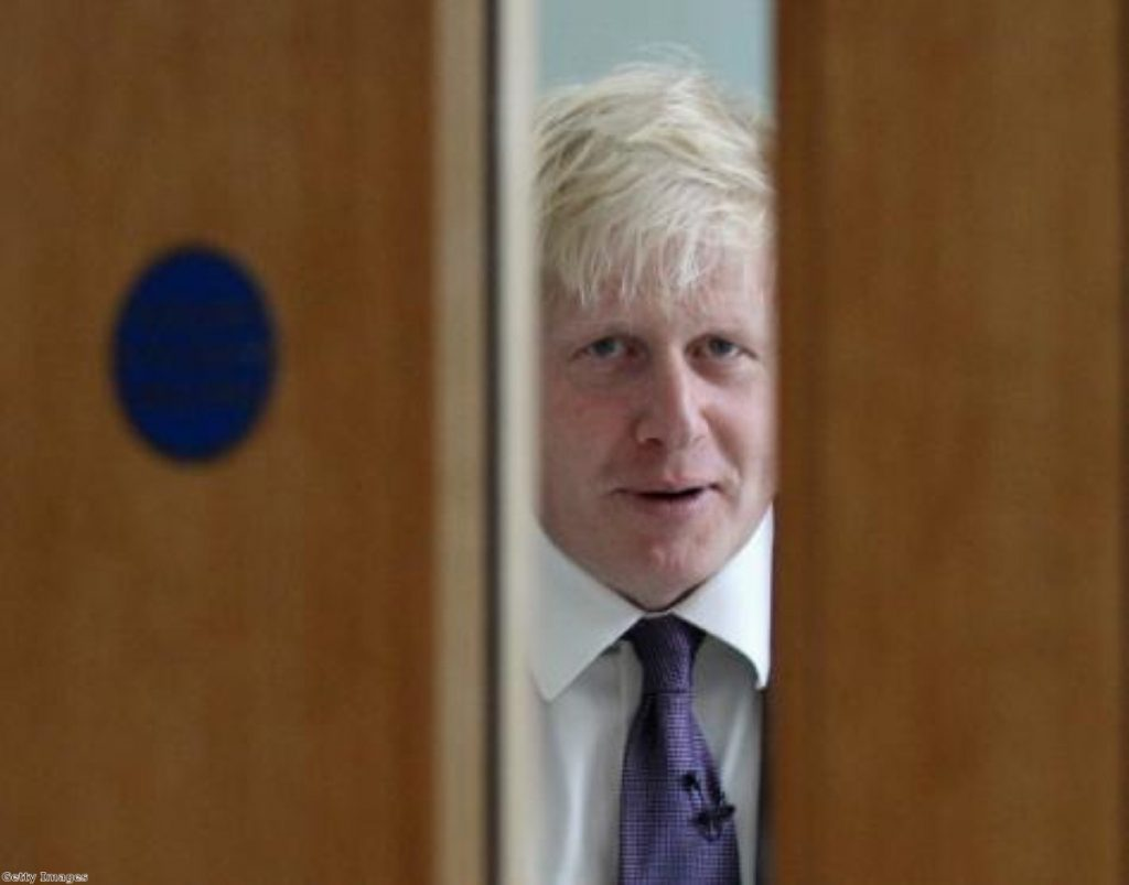 Coming back? Boris toys with Commons return.