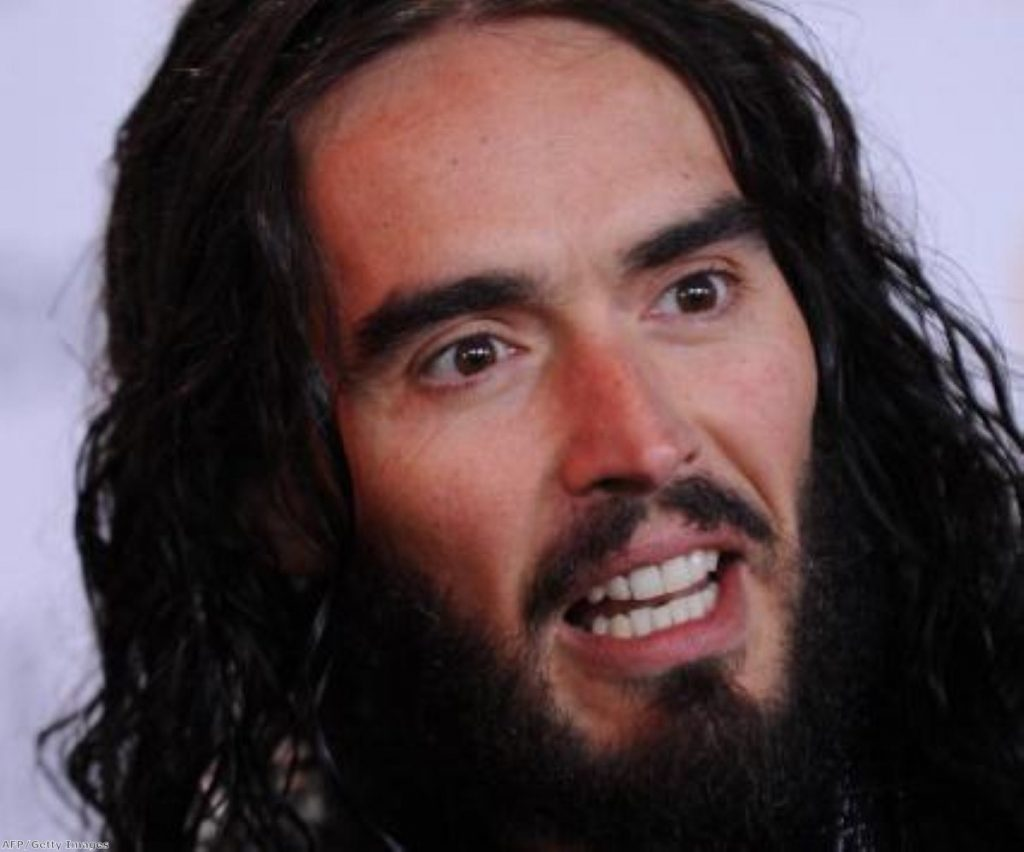 Russell Brand, the master politician