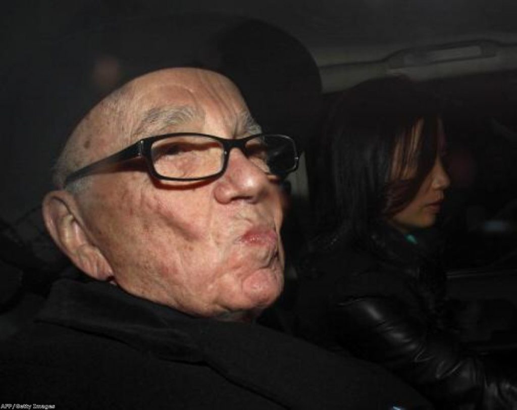Rupert Murdoch faces tough questions at the Leveson inquiry