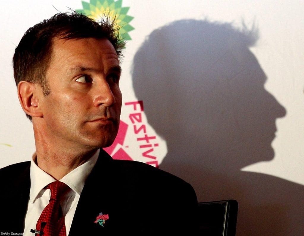 Hunted: The media secretary will be lucky to keep his job
