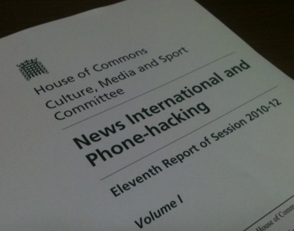 Inside the media committee's report on phone-hacking