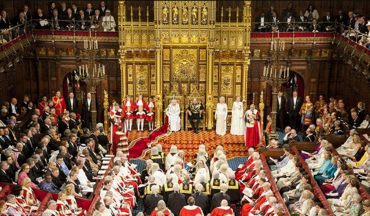 """""""A bill will be brought forward to reform the composition of the House of Lords"""""""