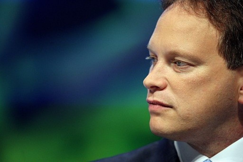 Shapps has the summer all to himself