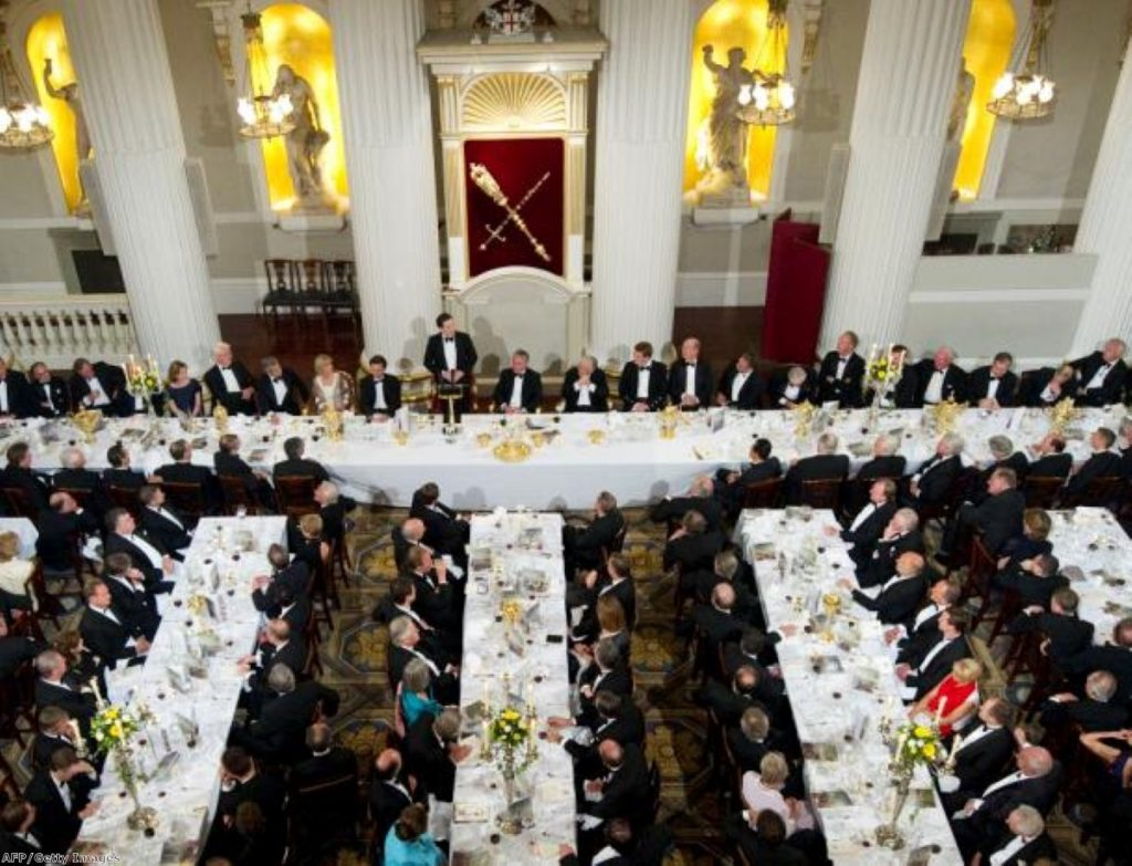 George Osborne delivers his Mansion House speech