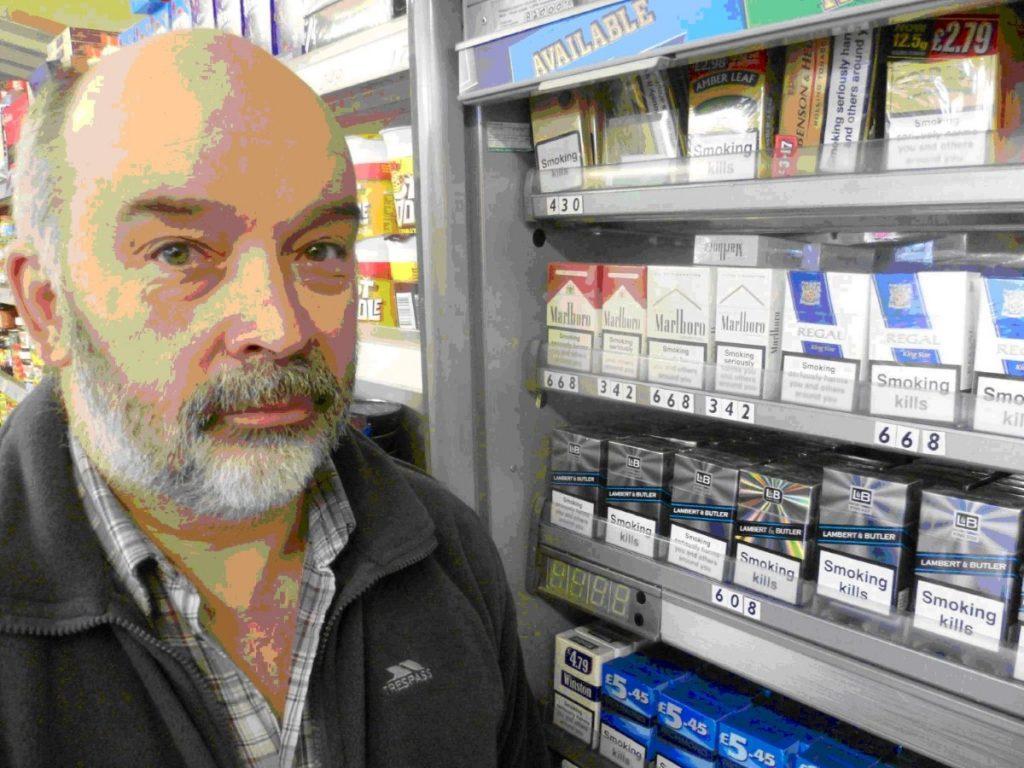 John McClurey on plain packaging and tobacco companies.