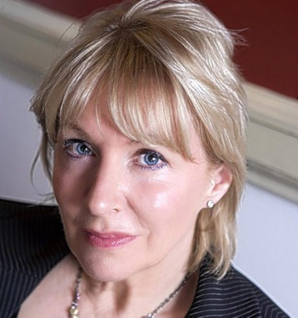 Nadine Dorries has turned her fire on outgoing fellow Tory MP Louise Mensch