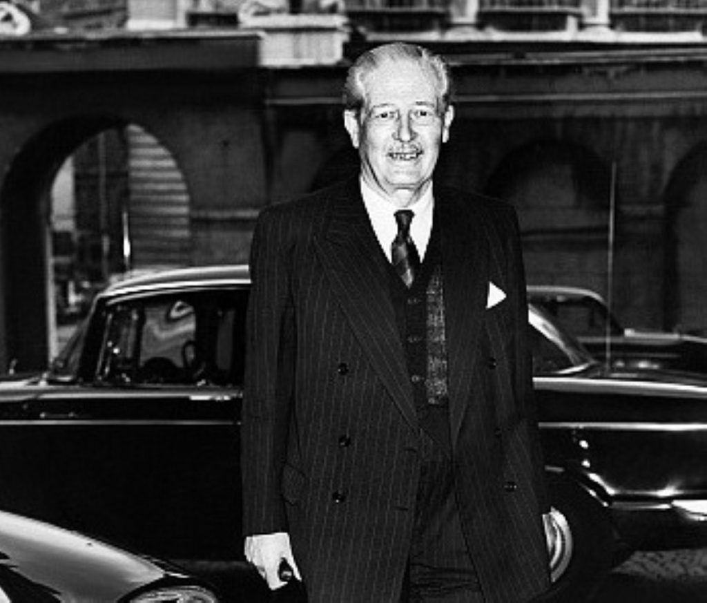 Harold Macmillan in early 1963 - before the carnage began