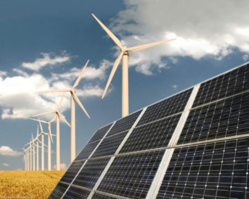 Renewable energy issues have barely been mentioned in the 2015 election campaign