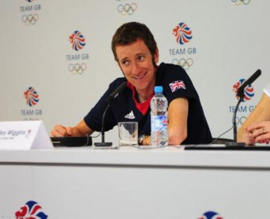 Bradley Wiggins outspoken after his gold medal