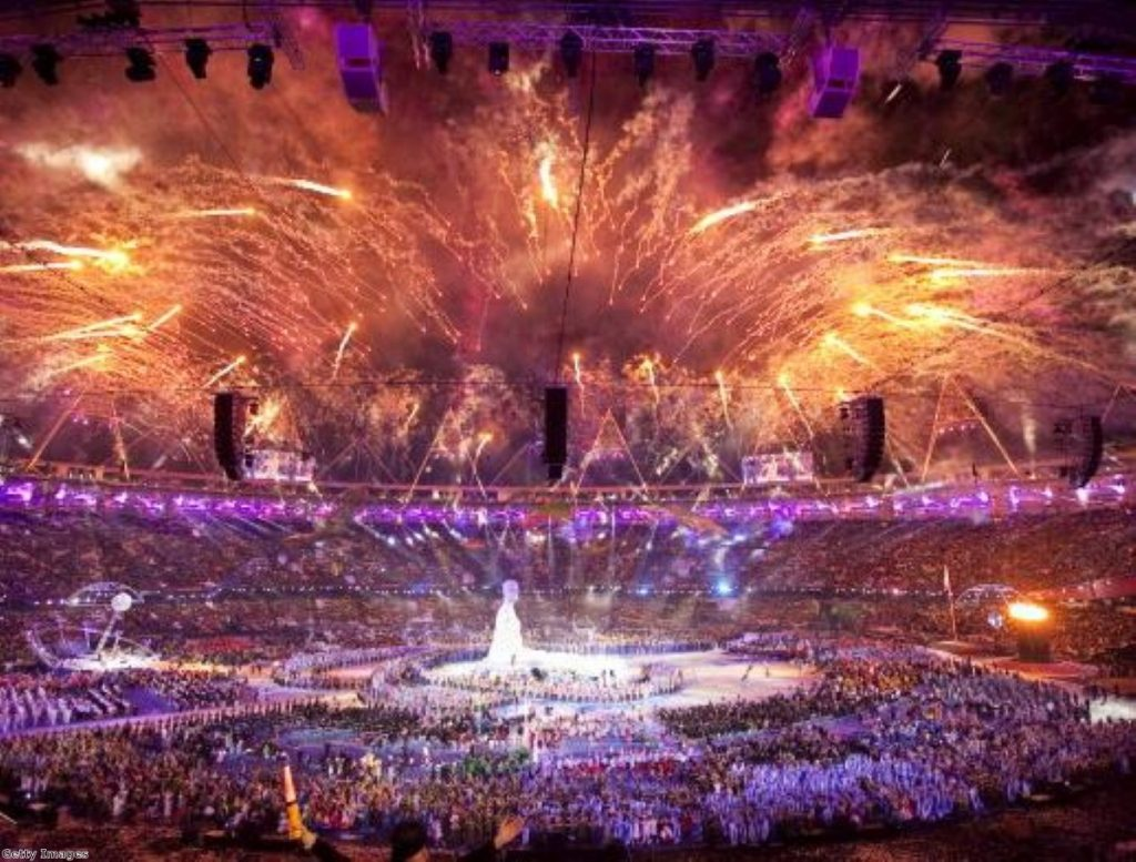 Edwina Currie put a dampener on a spectacular opening ceremony at the Paralympics